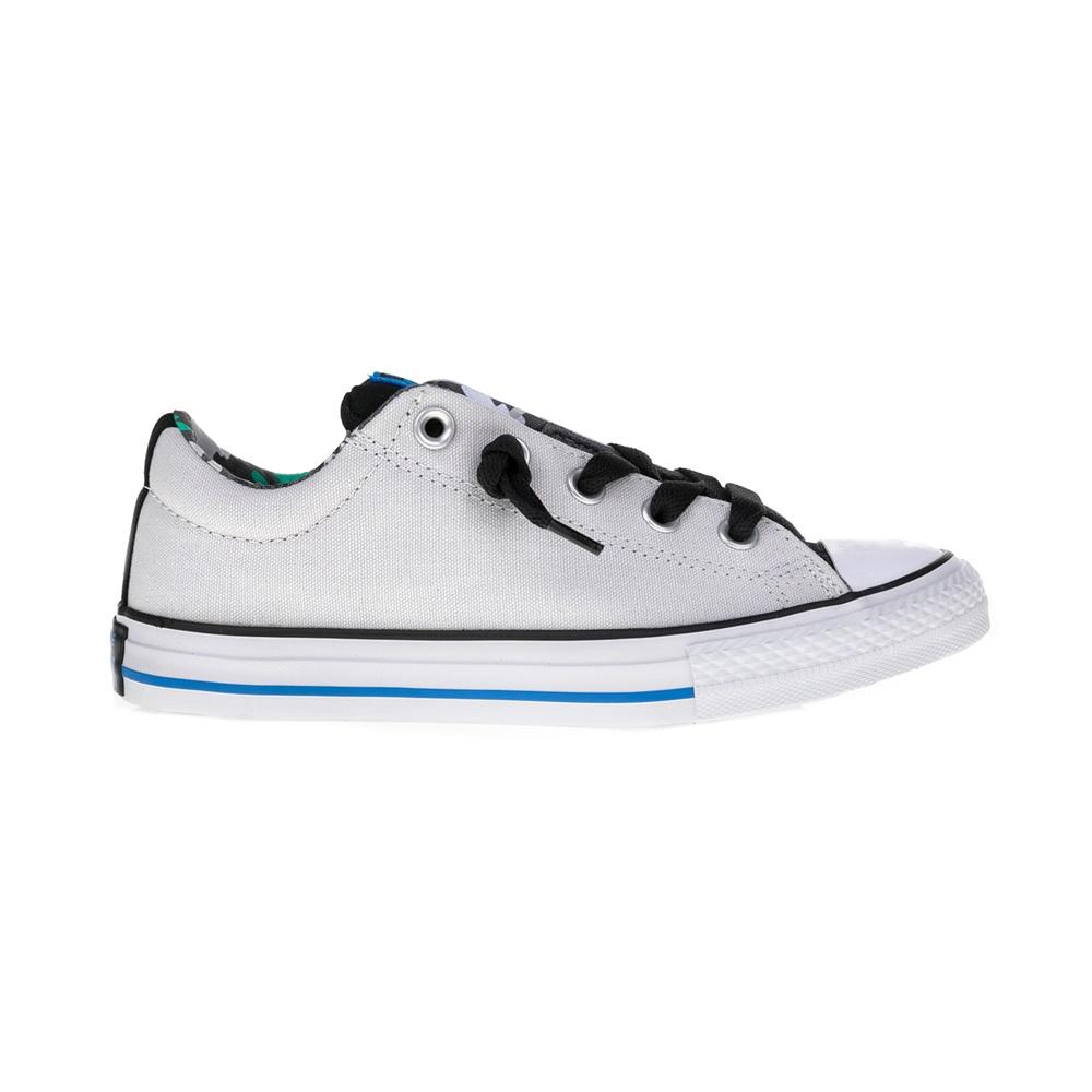 f385bd1c0ba CONVERSE - Παιδικά παπούτσια Chuck Taylor All Star Street S γκρι ...