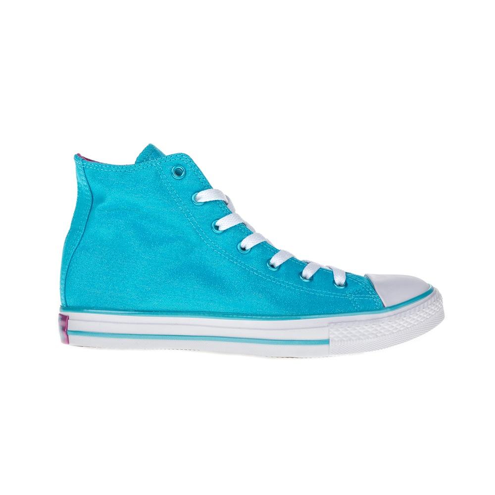 CONVERSE – Παιδικά παπούτσια Chuck Taylor All Star Hi μπλε 9a25c4fa84b