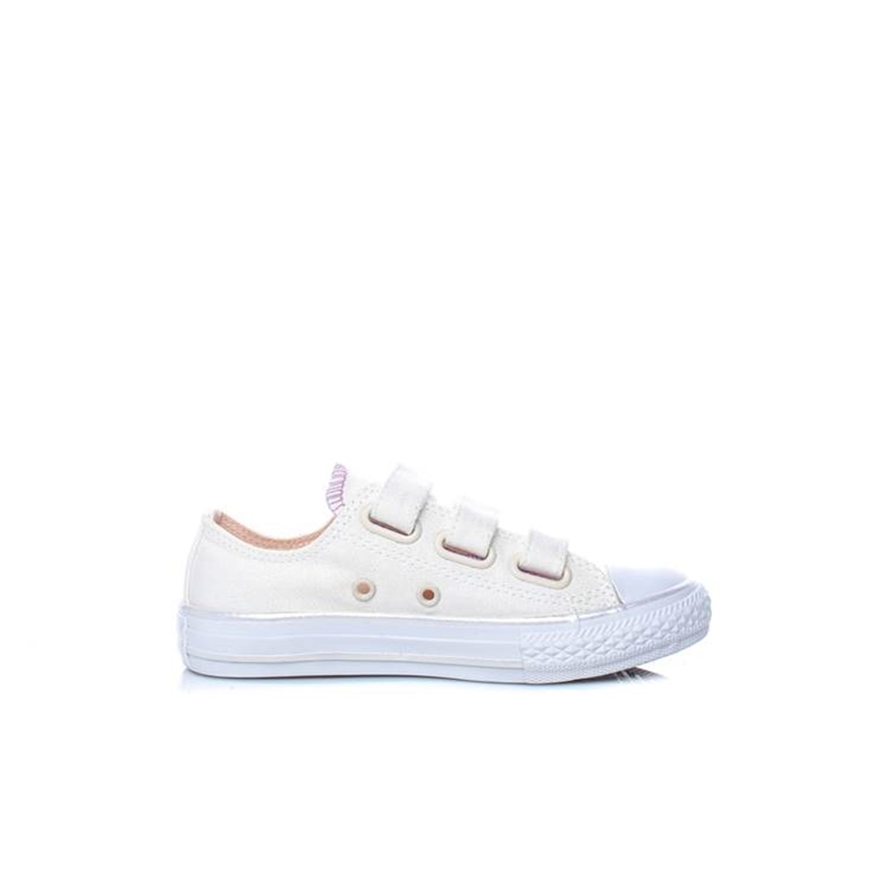 f16c1b5ac83 CONVERSE – Παιδικά sneakers CONVERSE Chuck Taylor All Star 3V Ox εκρού