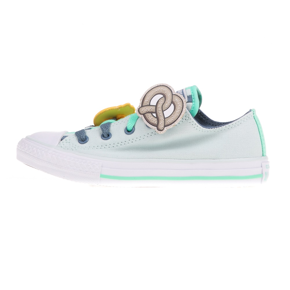 CONVERSE – Παιδικά sneakers CONVERSE Chuck Taylor All Star Loophole λαχανί
