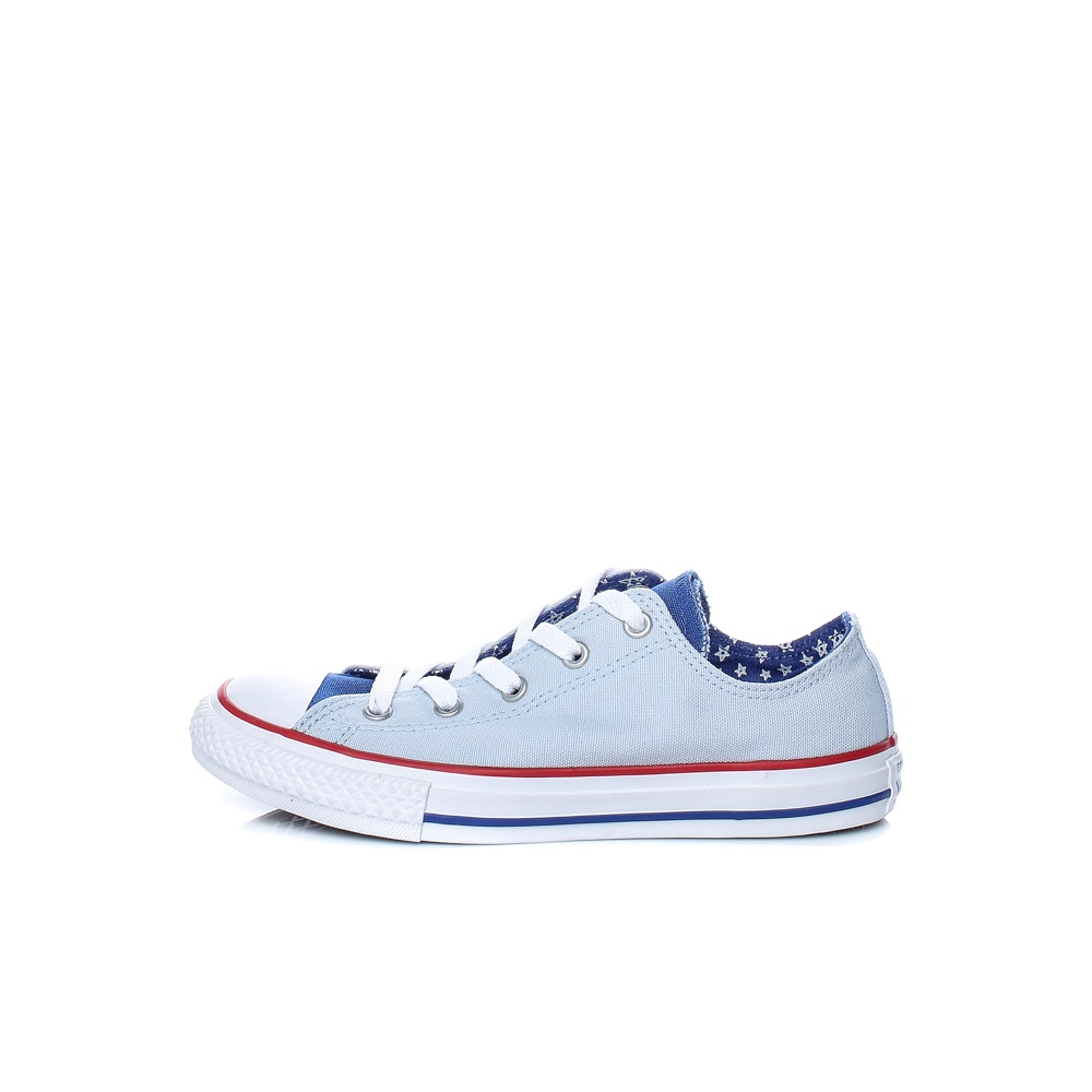 CONVERSE – Παιδικά παπούτσια Chuck Taylor All Star Double T μπλε