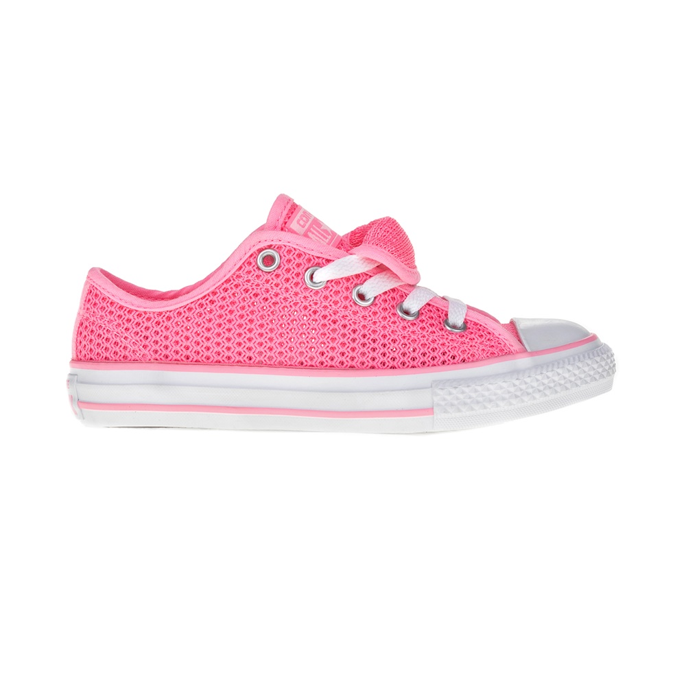 CONVERSE – Παιδικά παπούτσια Chuck Taylor All Star Double T ροζ