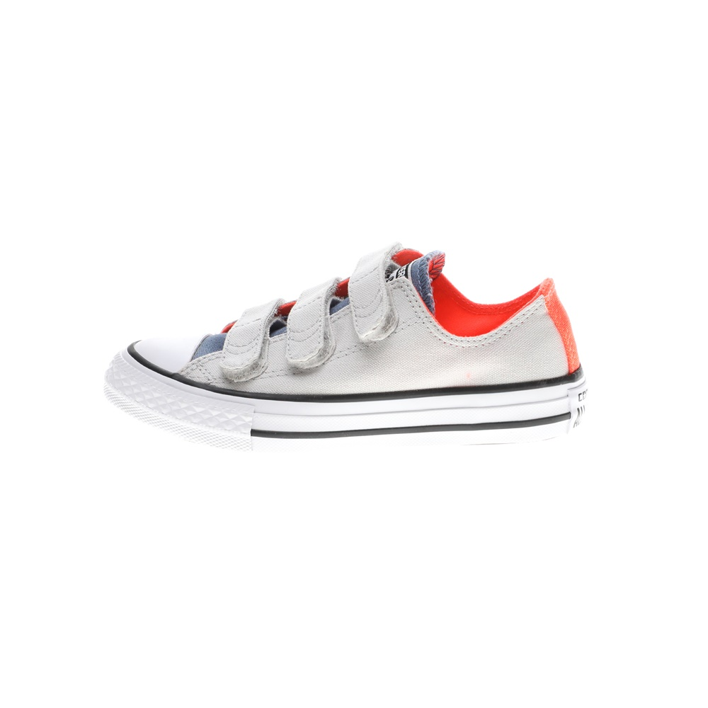 CONVERSE – Παιδικά sneakers CONVERSE Chuck Taylor All Star 3V Ox λευκά μπλε