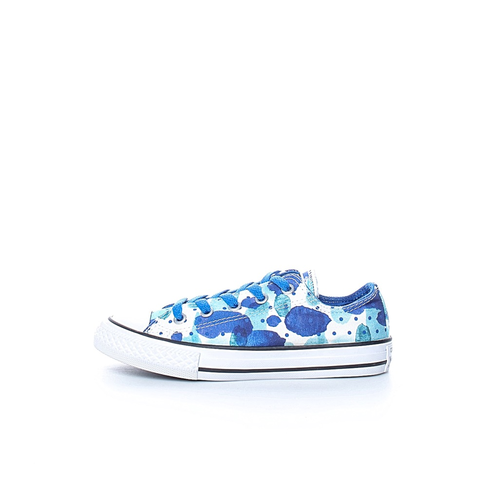 CONVERSE – Παδικά sneakers CONVERSE Chuck Taylor All Star Ox μπλε-λευκά
