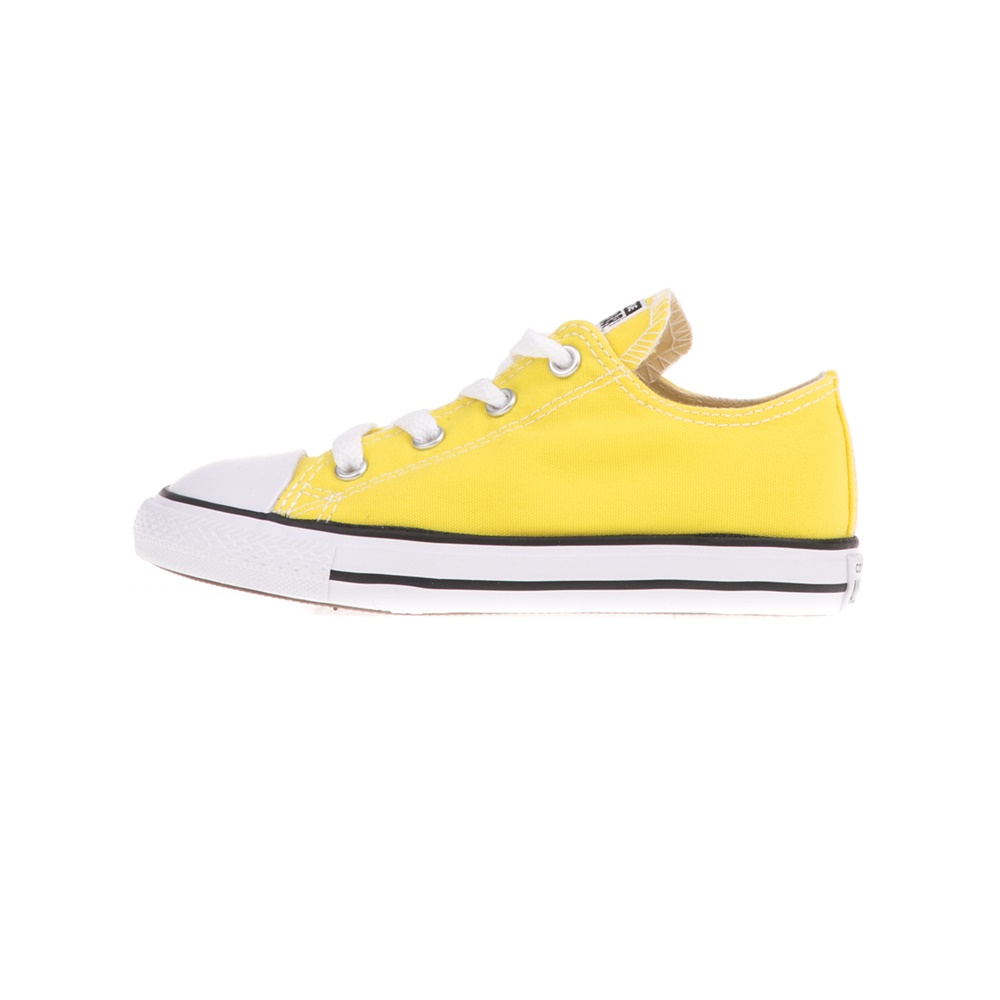 CONVERSE – Βρεφικά sneakers CONVERSE Chuck Taylor All Star Ox κίτρινα