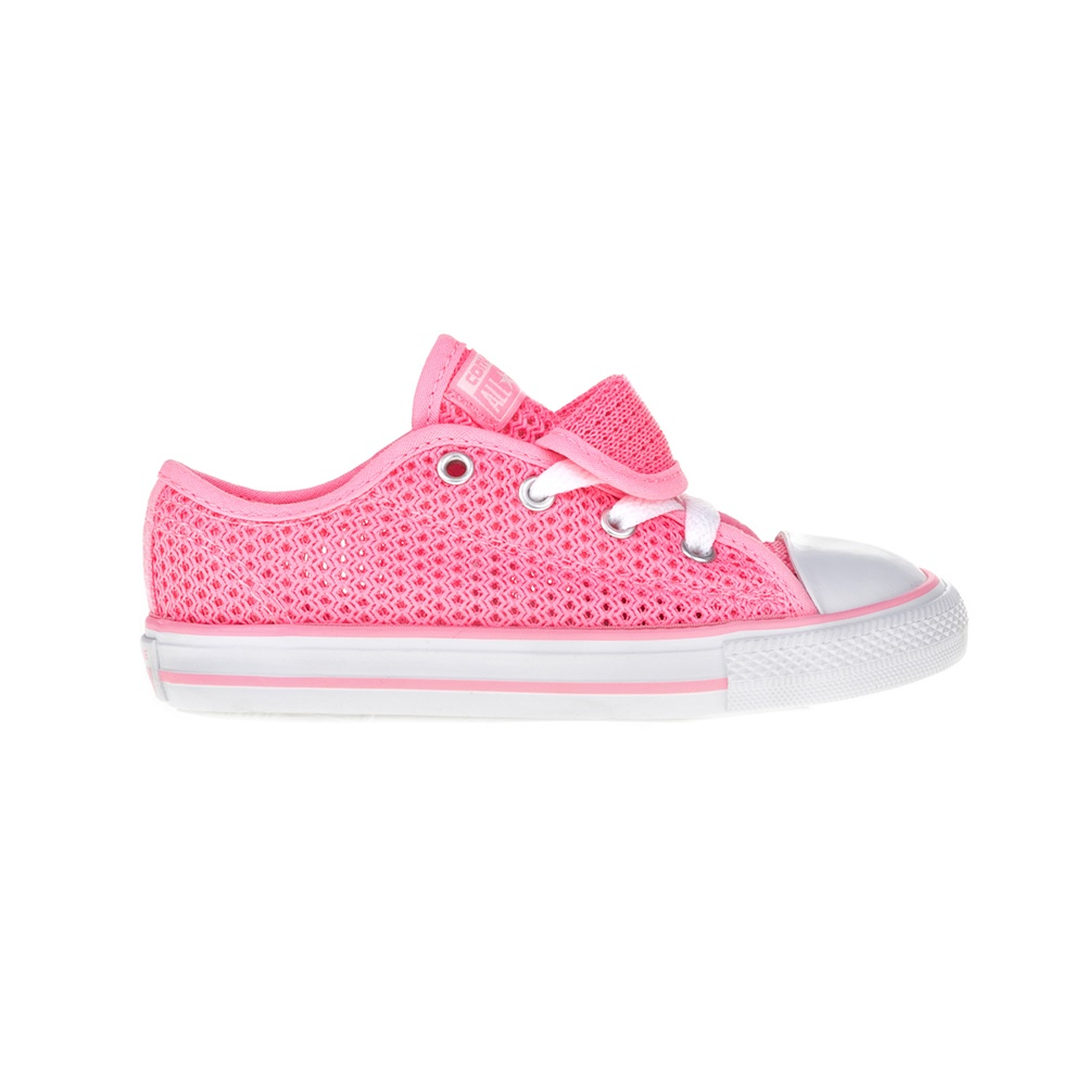 CONVERSE – Βρεφικά παπούτσια Chuck Taylor All Star Double T ροζ