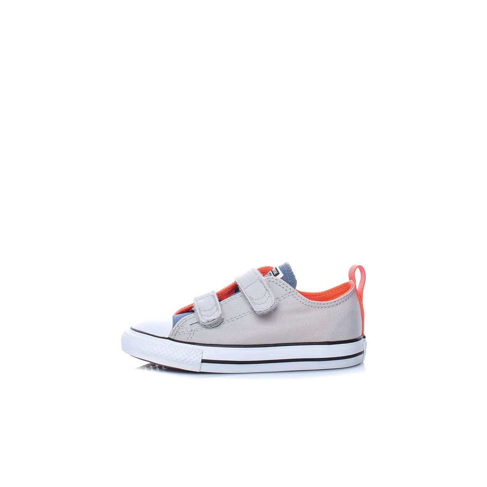 CONVERSE – Βρεφικά sneakers CONVERSE Chuck Taylor All Star 2V Ox γκρι