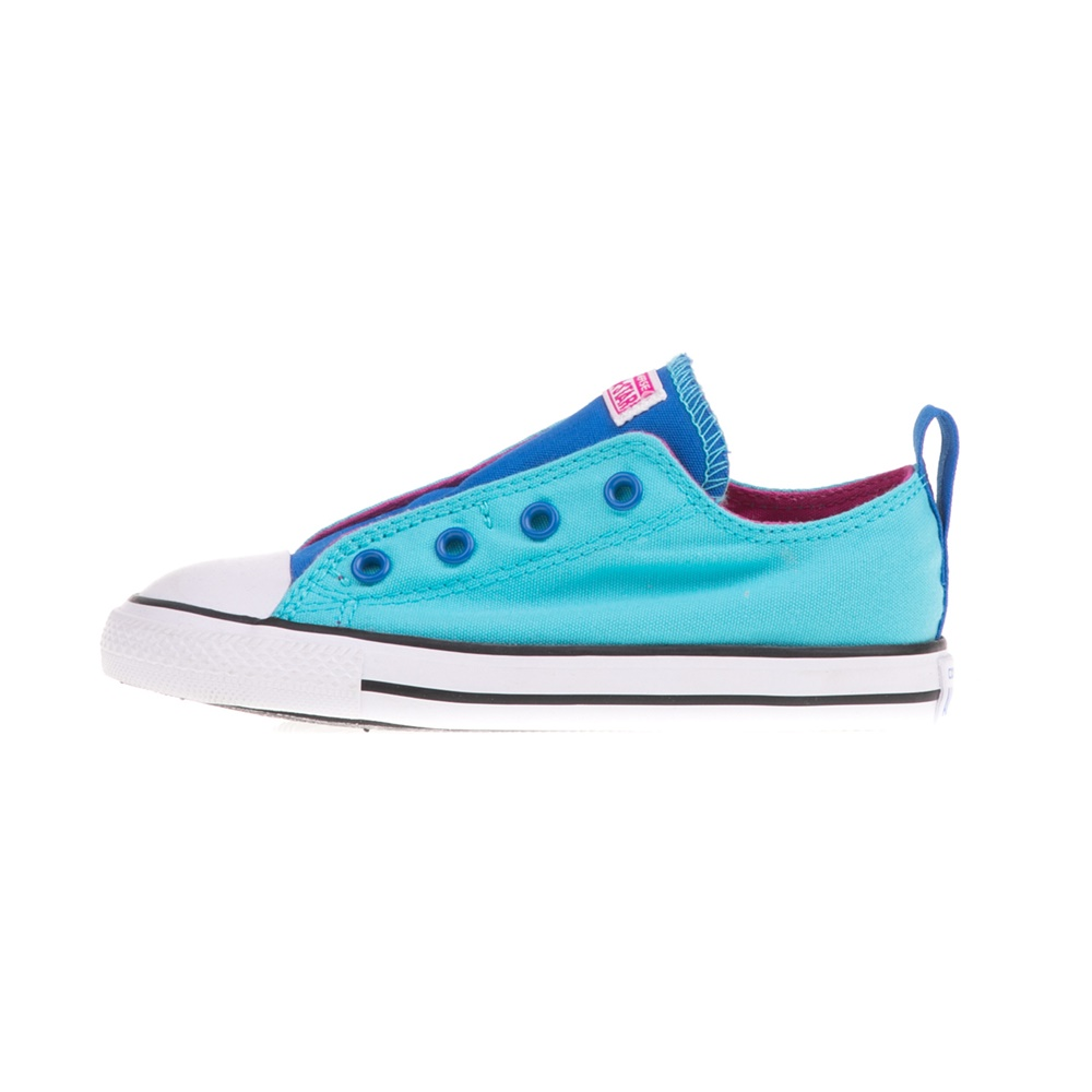 0bc54920ab -30% Factory Outlet CONVERSE – Βρεφικά sneakers CONVERSE Chuck Taylor All  Star Simple γαλάζια