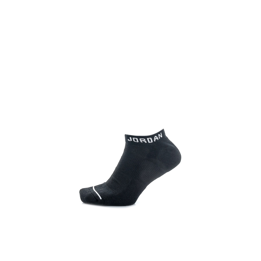 NIKE - Σετ unisex κάλτσες Nike JUMPMAN NO-SHOW μαύρες γυναικεία αξεσουάρ κάλτσες