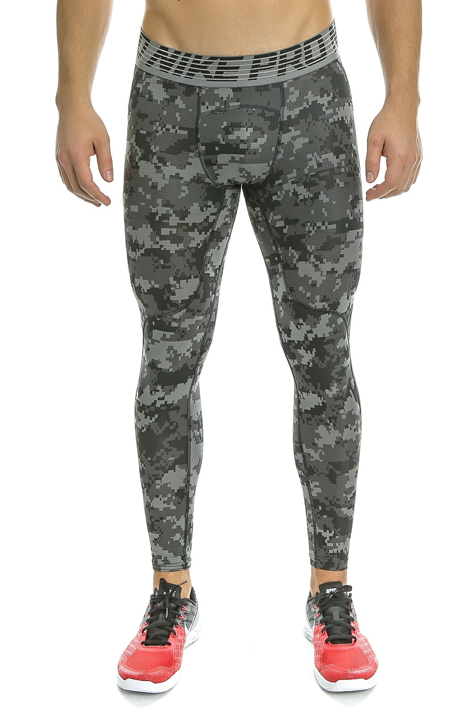 NIKE - Ανδρικό αθλητικό κολάν Nike γκρι παραλλαγή ανδρικά ρούχα αθλητικά κολάν