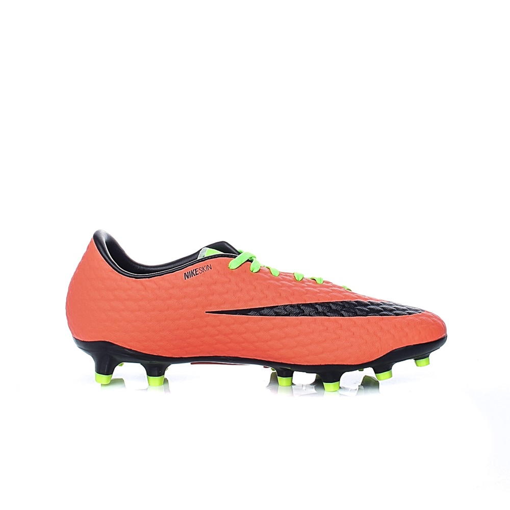 NIKE – Ανδρικά παπούτσια ποδοσφαίρου Nike HYPERVENOM PHELON III FG πορτοκαλί – κίτρινο