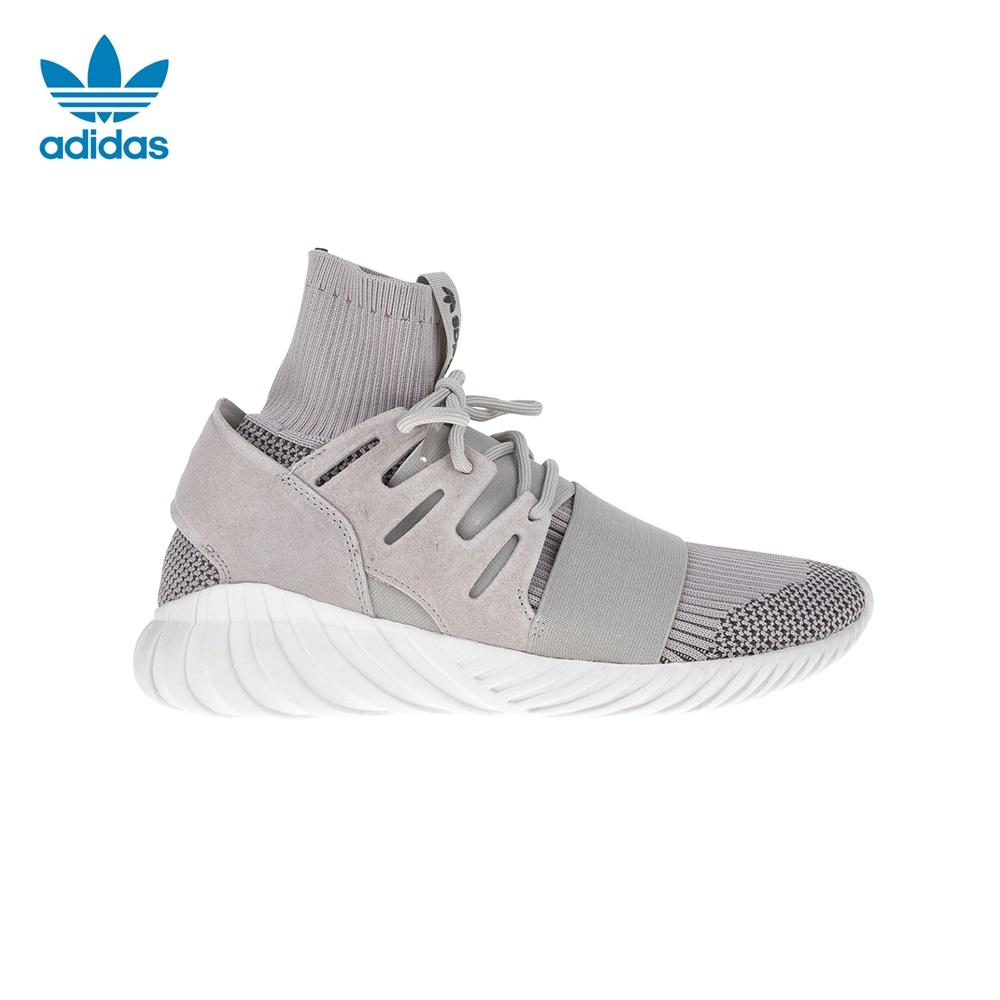 adidas Originals – Ανδρικά αθλητικά παπούτσια Tubular Doom Primeknit Trainers γκρι