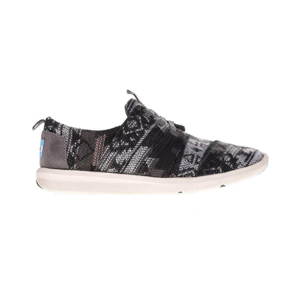 TOMS – Γυναικεία sneakers TOMS μαύρα-γκρι