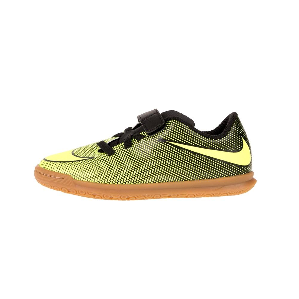 NIKE – Παιδικά παπούτσια JR NIKE BRAVATA II (V) IC κίτρινα