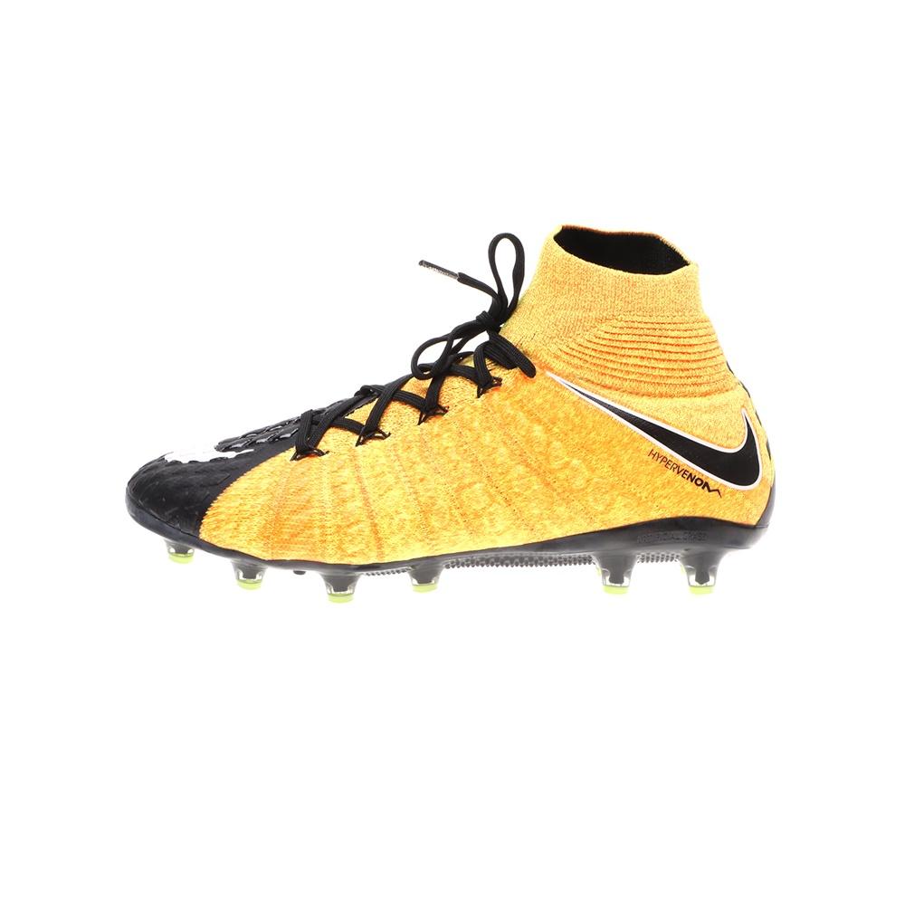NIKE – Ανδρικά παπούτσια ποδοσφαίρου NIKE HYPERVENOM PHANTOM 3 DF AGPRO κίτρινα