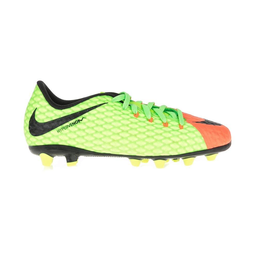 NIKE - Παιδικά παπούτσια ποδοσφαίρου JR HYPERVENOM PHELON 3 AG-PRO κίτρινα - πορ παιδικά boys παπούτσια αθλητικά