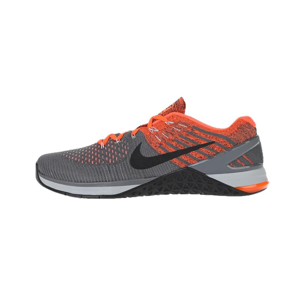 NIKE – Ανδρικά παπούτσια NIKE METCON DSX FLYKNIT γκρι-πορτοκαλί