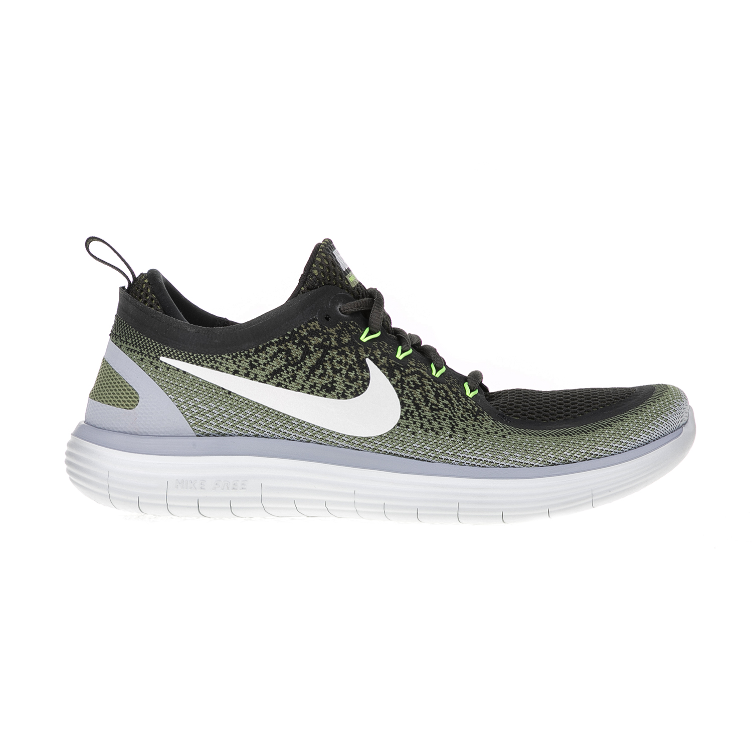 e983be9a042 NIKE – Ανδρικά παπούτσια τρεξίματος NIKE FREE RN DISTANCE 2 χακί.  Factoryoutlet