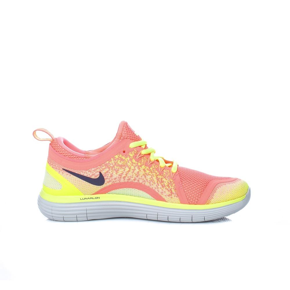 8203da5440b -30% Factory Outlet NIKE – Γυναικεία αθλητικά παπούτσια Nike FREE RN  DISTANCE 2 πορτοκαλί – κίτρινα