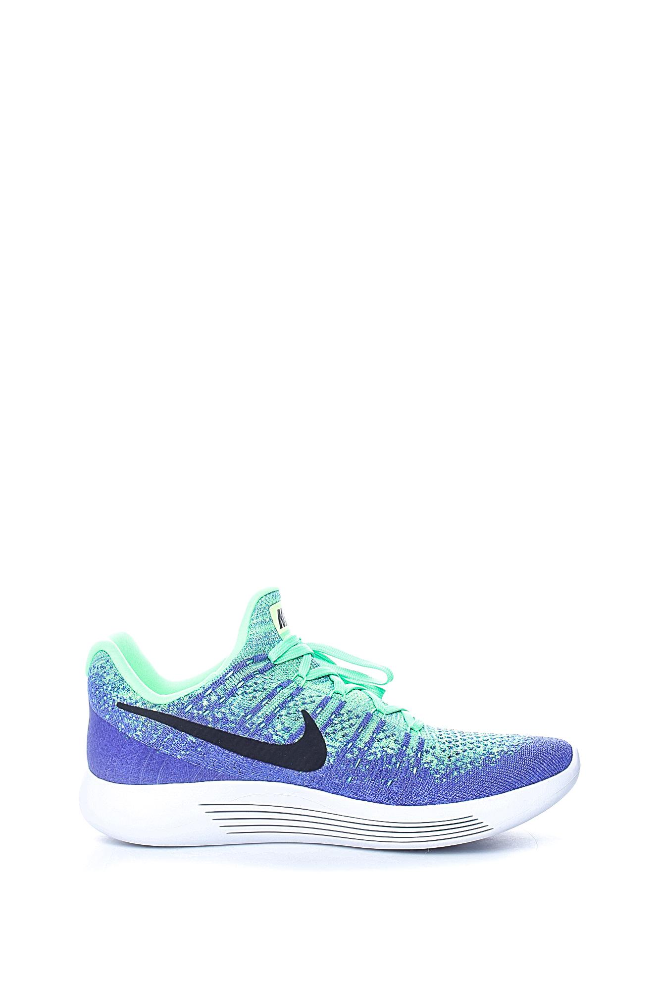 NIKE – Ανδρικά αθλητικά παπούτσια Nike LUNAREPIC LOW FLYKNIT 2 πράσινα – μπλε