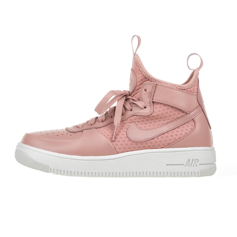 4046c628725 Factoryoutlet NIKE – Γυναικεία παπούτσια Nike AIR FORCE 1 ULTRAFORCE MID ροζ
