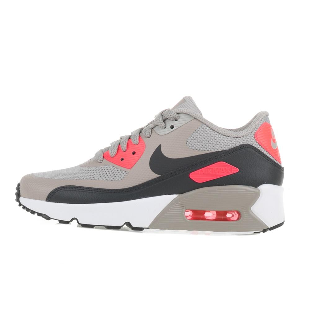 NIKE – Παιδικά αθλητικά παπούτσια AIR MAX 90 ULTRA 2.0 (GS) γκρι-πορτοκαλί