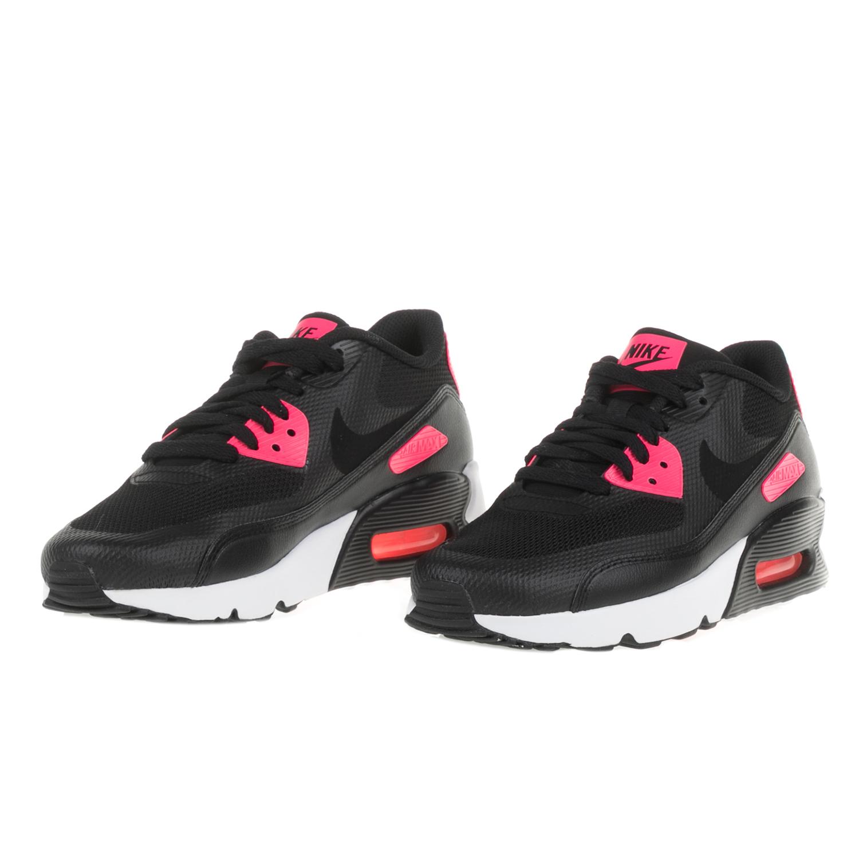 NIKE - Κοριτσίστικα αθλητικά παοπύτσια AIR MAX 90 ULTRA 2.0 (GS) μαύρα -  ροζ 373a9338150