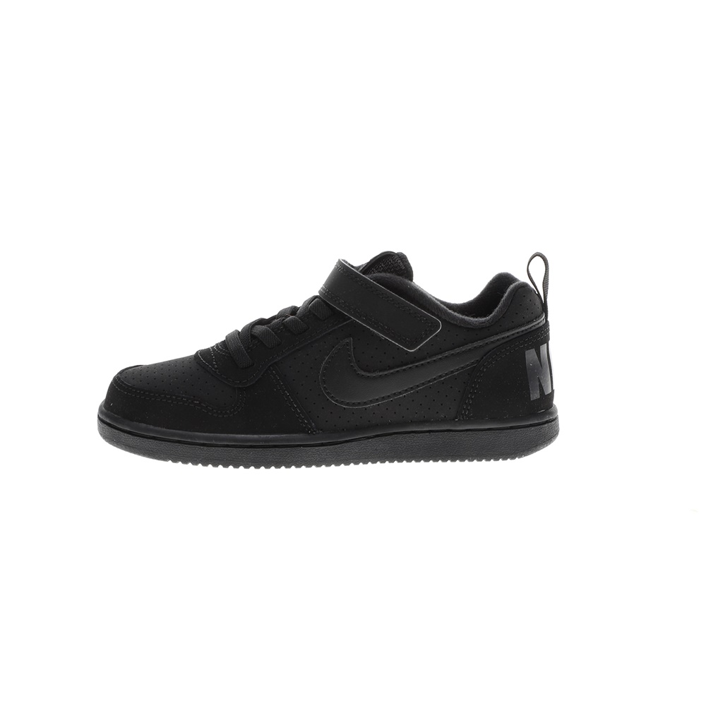 NIKE – Παιδικά παπούτσια NIKE COURT BOROUGH LOW (PSV) μαύρα