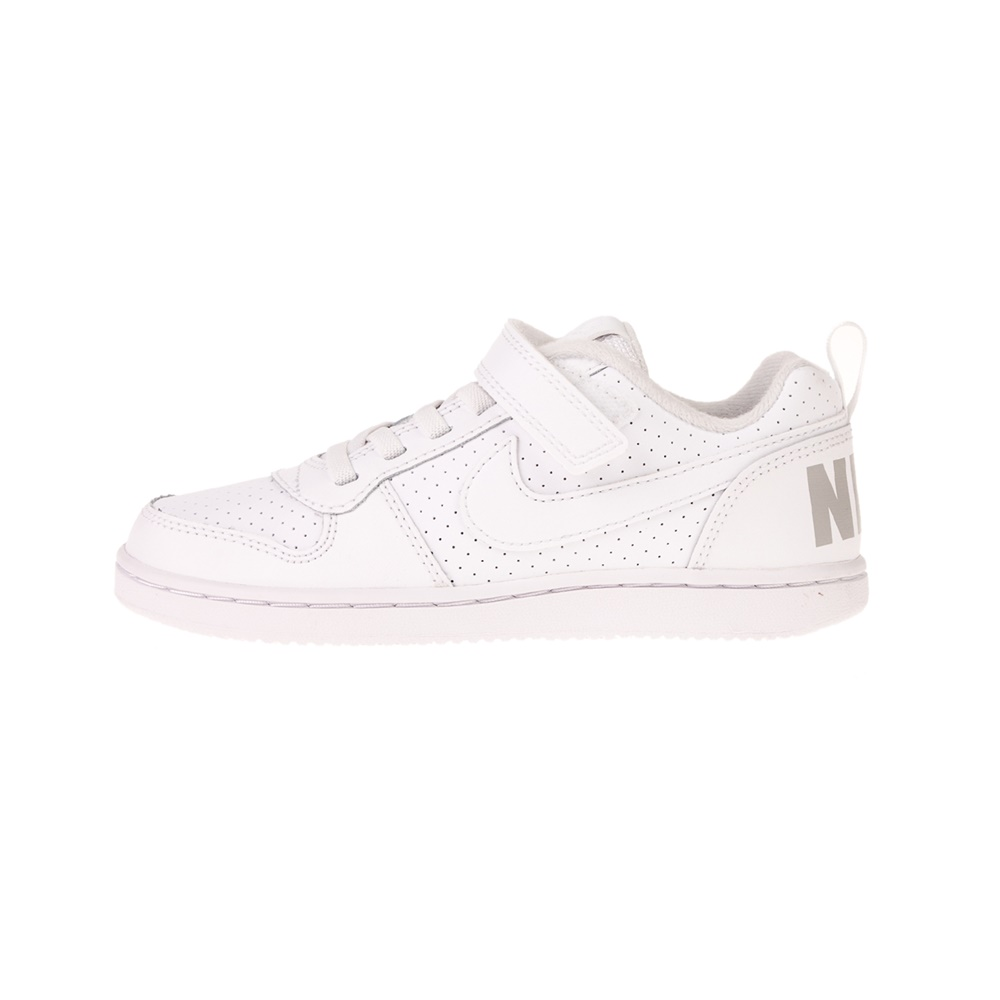 NIKE – Παιδικά αθλητικά παπούτσια NIKE COURT BOROUGH LOW (PSV) λευκά