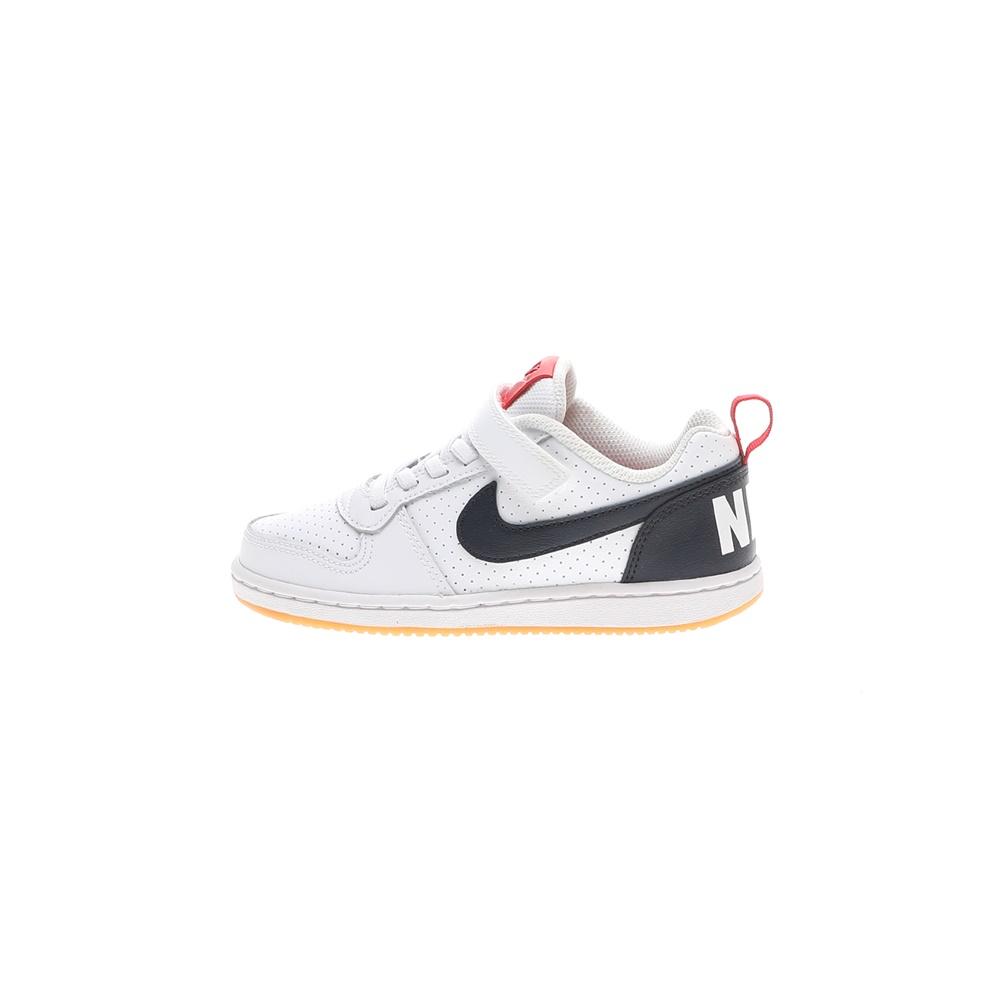 NIKE – Παιδικά παπούτσια NIKE COURT BOROUGH LOW (PSV) λευκά μπλε