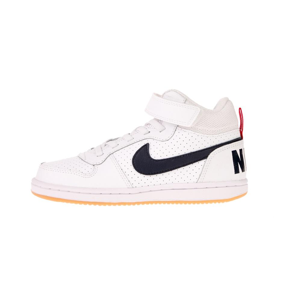 NIKE – Παιδικά αθλητικά παπούτσια Nike COURT BOROUGH MID (PSV) λευκά