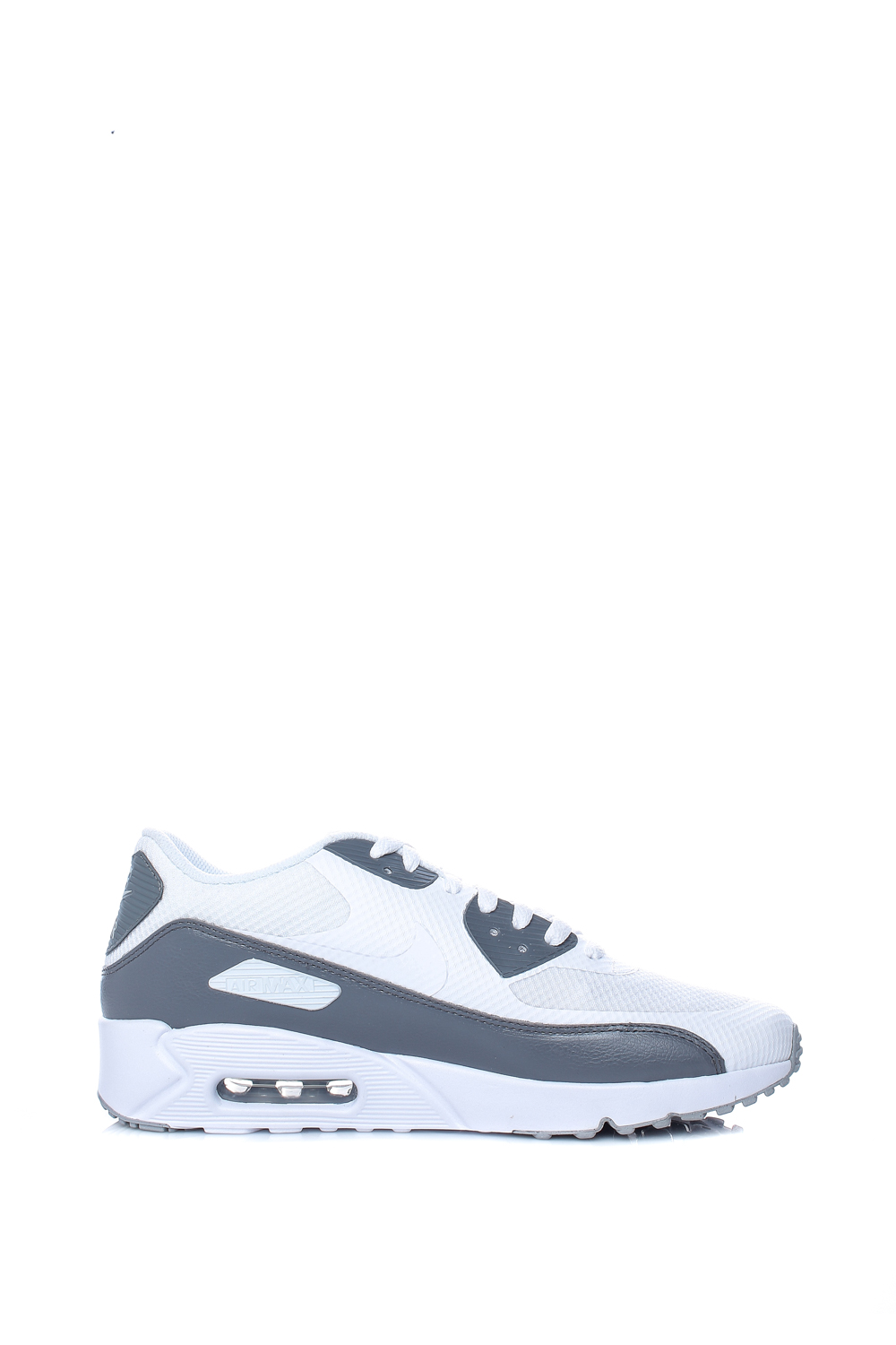 059c15bc02e NIKE – Ανδρικά αθλητικά παπούτσια Nike AIR MAX 90 ULTRA 2.0 ESSENTIAL λευκά  – μαύρα. Factoryoutlet