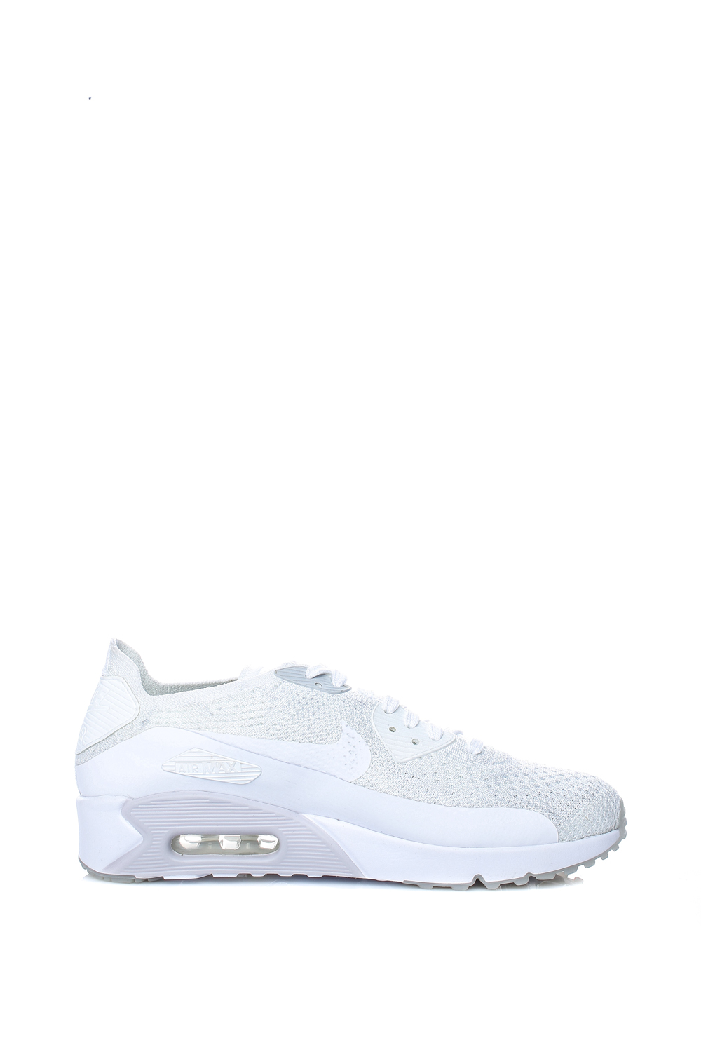 e1f07b0ede5 NIKE – Ανδρικά αθλητικά παπούτσια Nike AIR MAX 90 ULTRA 2.0 FLYKNIT λευκά.  Factoryoutlet