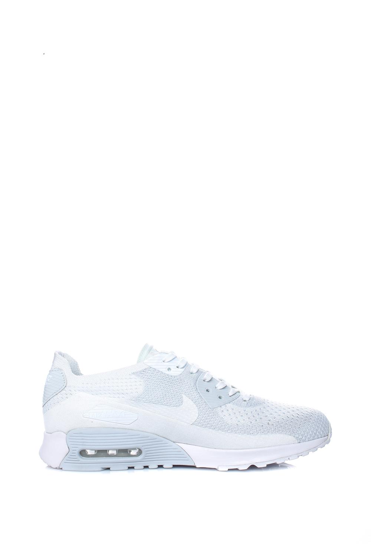 a3bcb7fcdb2 NIKE – Γυναικεία αθλητικά παπούτσια Nike AIR MAX 90 ULTRA 2.0 FLYKNIT λευκά.  Factory Outlet