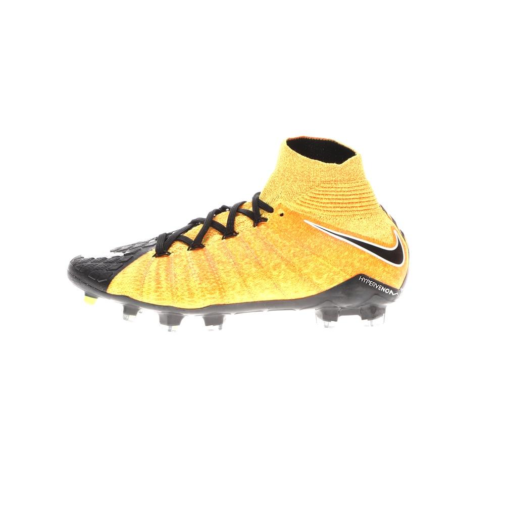 NIKE – Παιδικά ποδοσφαιρικά παπούτσια JR HYPERVENOM PHANTOM 3 DF FG πορτοκαλί μαύρα