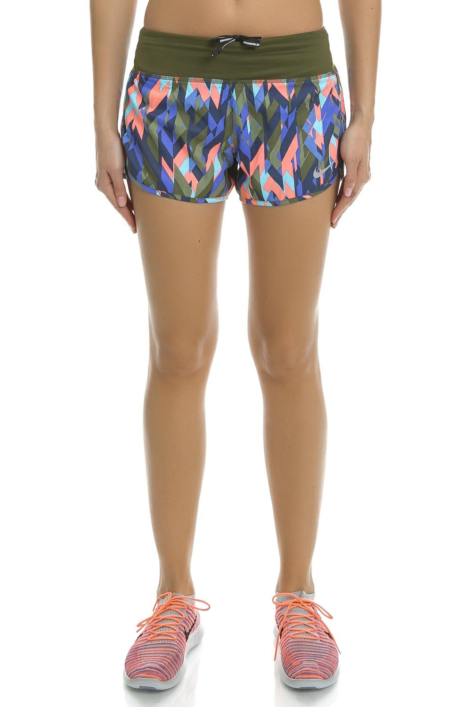 NIKE - Γυναικείο αθλητικό σορτς Nike FLX 3IN πολύχρωμο γυναικεία ρούχα σορτς βερμούδες αθλητικά