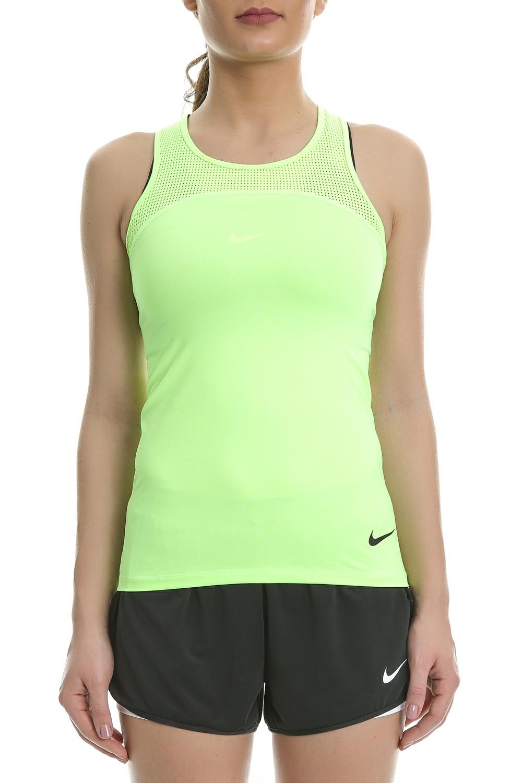 NIKE - Γυναικείο αθλητικό φανελάκι Nike Pro HyperCool κίτρινο c0c9b76f1b2