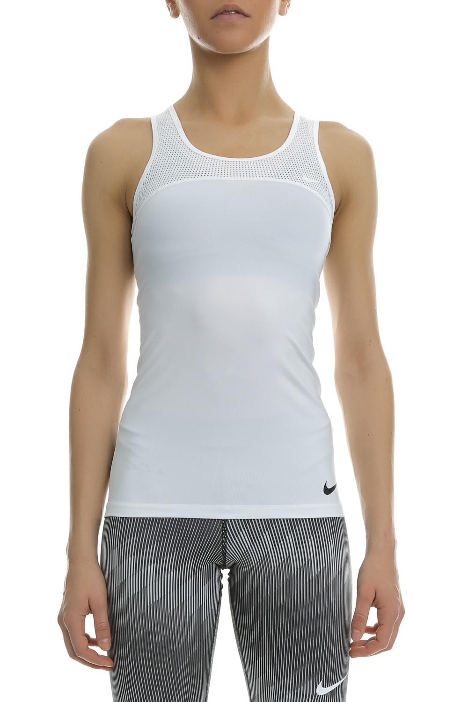 NIKE - Γυναικείο αθλητικό φανελάκι Nike Pro HyperCool λευκό