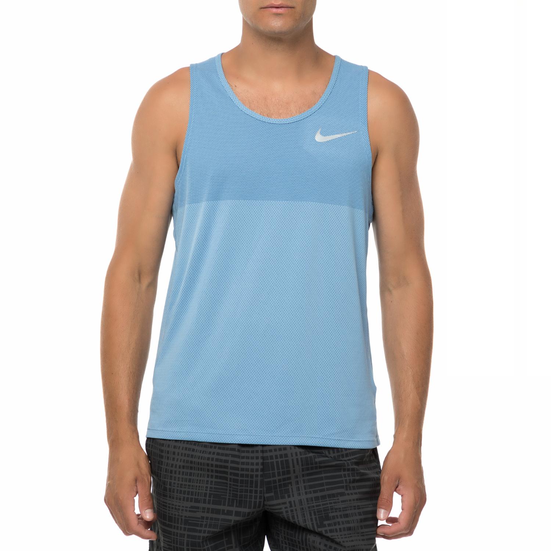 NIKE - Ανδρική αμάνικη μπλούζα Nike ZNL CL RELAY γαλάζια ανδρικά ρούχα αθλητικά t shirt