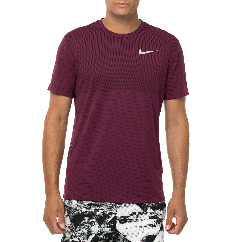 NIKE - Ανδρική κοντομάνικη μπλούζα Nike ZNL CL RELAY μοβ ανδρικά ρούχα αθλητικά t shirt