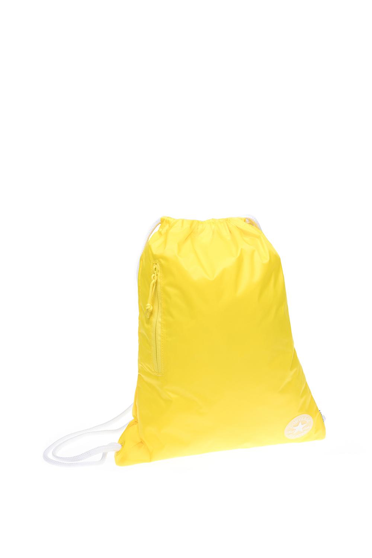 CONVERSE - Τσάντα πλάτης Converse κίτρινη γυναικεία αξεσουάρ τσάντες σακίδια αθλητικές