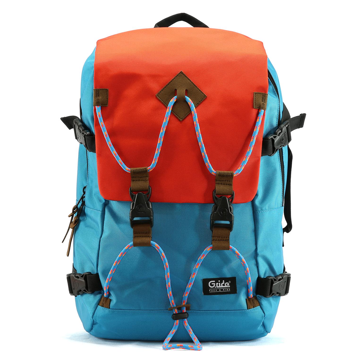G.RIDE - Τσάντα πλάτης G.Ride μπλε γυναικεία αξεσουάρ τσάντες σακίδια πλάτης