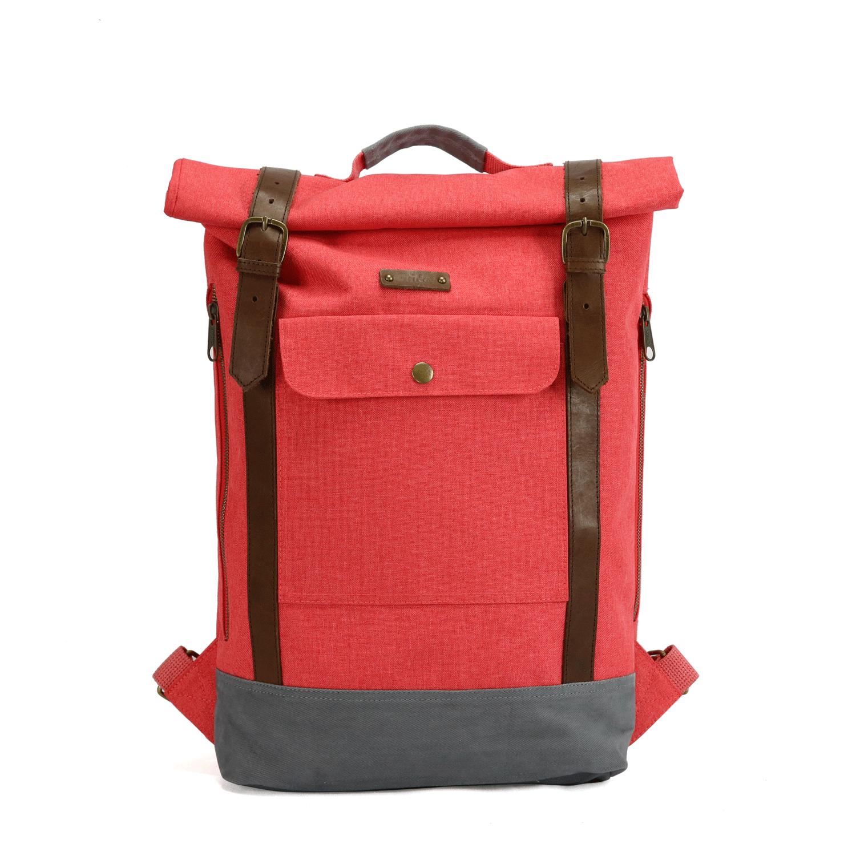 G.RIDE - Τσάντα πλάτης G.Ride κόκκινη γυναικεία αξεσουάρ τσάντες σακίδια πλάτης