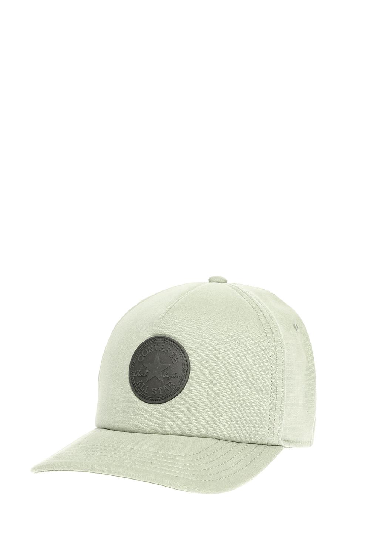 CONVERSE - Καπέλο τζόκεϋ Converse πράσινο ανδρικά αξεσουάρ καπέλα αθλητικά
