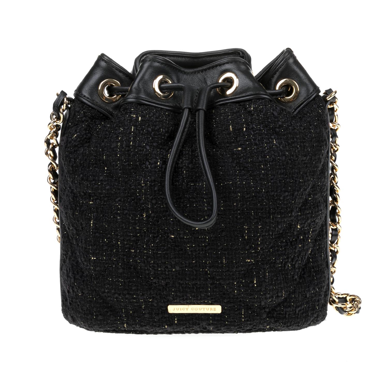 JUICY COUTURE – Γυναικεία τσάντα JUICY COUTURE μαύρη 1516794.0-0071