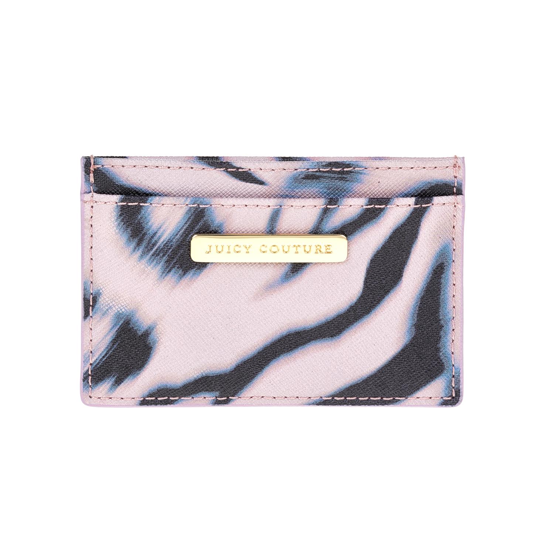JUICY COUTURE - Θήκη για κάρτες JUICY COUTURE ροζ γυναικεία αξεσουάρ θήκες