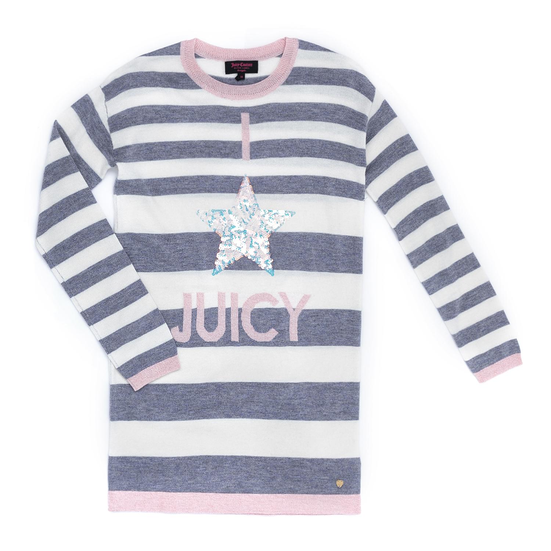 JUICY COUTURE KIDS - Παιδικό φόρεμα JUICY COUTURE KIDS ριγέ 381c3069b54