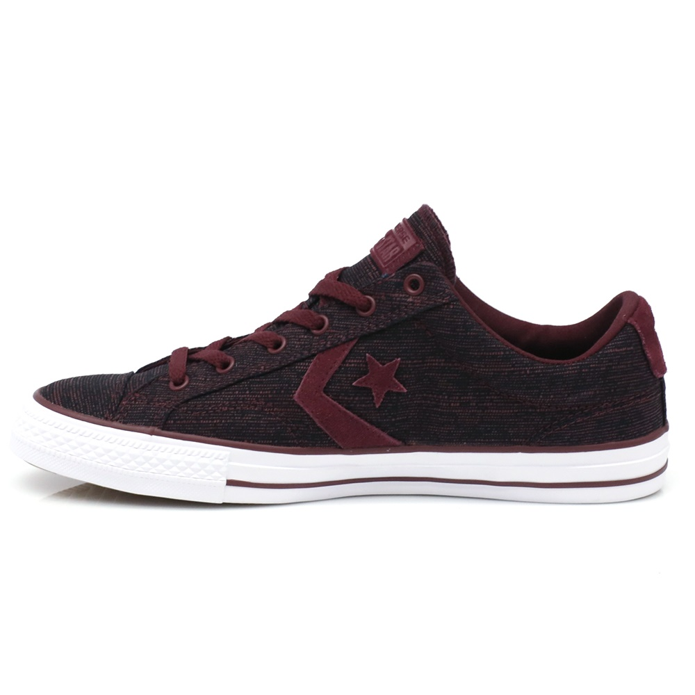 CONVERSE – Ανδρικά παπούτσια Star Player Ox μπορντώ