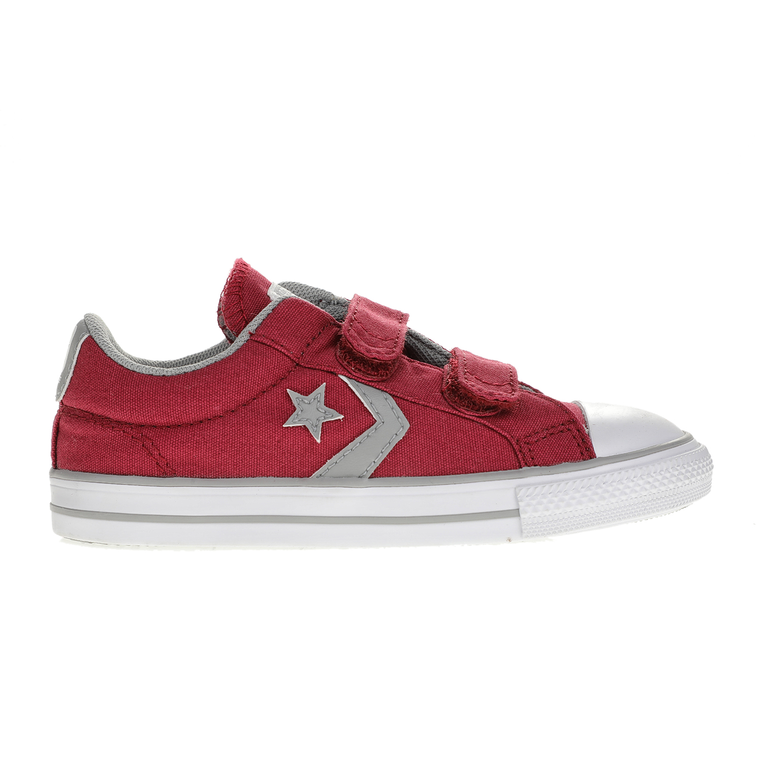 CONVERSE – Βρεφικά παπούτσια CONVERSE Star Player 2V Ox κόκκινα