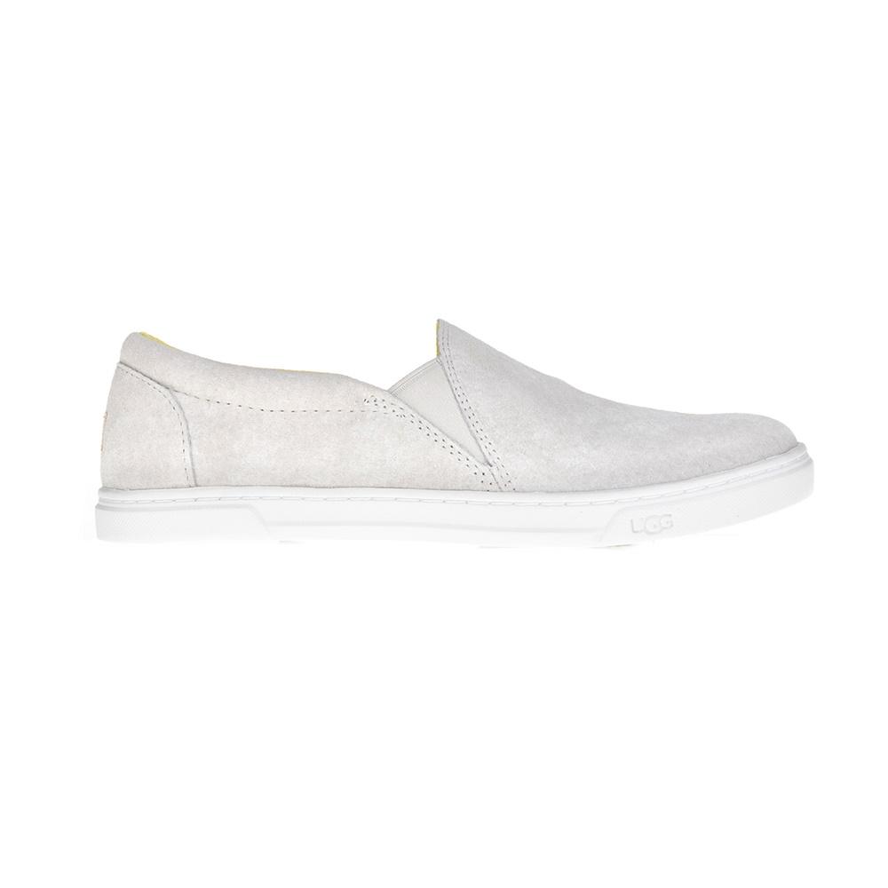UGG - Γυναικεία slip on παπούτσια Kitlyn εκρού-γκρι γυναικεία παπούτσια μοκασίνια μπαλαρίνες μοκασίνια